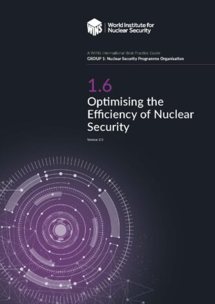 1.6 Optimising the Efficiency of Nuclear Security