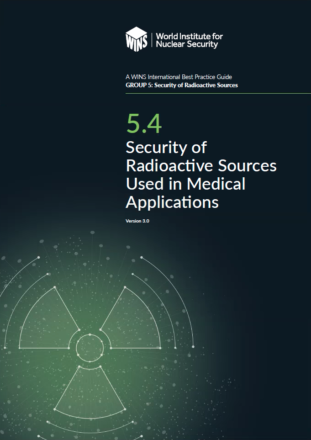 5.4 Security of Radioactive Sources Used in Medical Applications