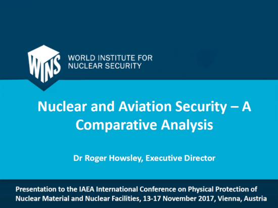 Nuclear and Aviation Security –A Comparative Analysis