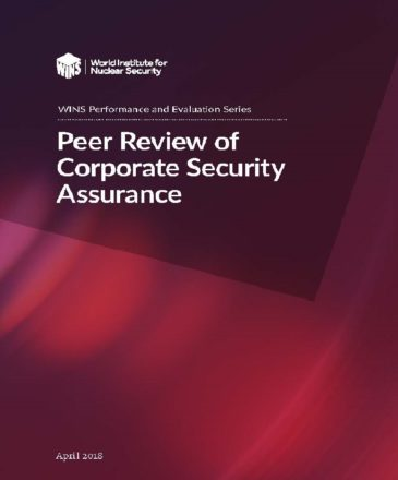 Peer Review of Corporate Security Assurance