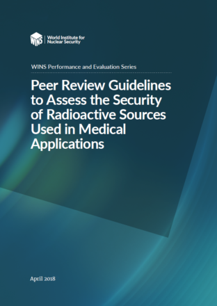Peer Review Guidelines to Assess the Security of Radioactive Sources Used in Medical Applications
