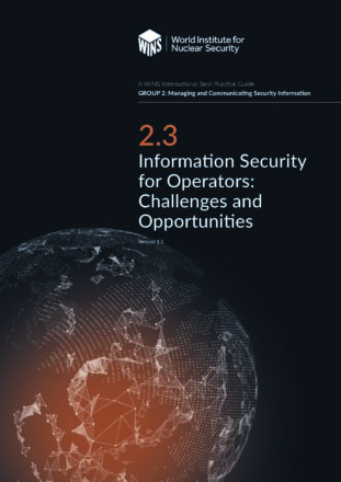 2.3 Information Security for Operators: Challenges and Opportunities