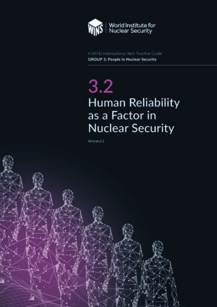 3.2 Human Reliability as a Factor in Nuclear Security