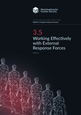 3.5 Working Effectively with External Response Forces