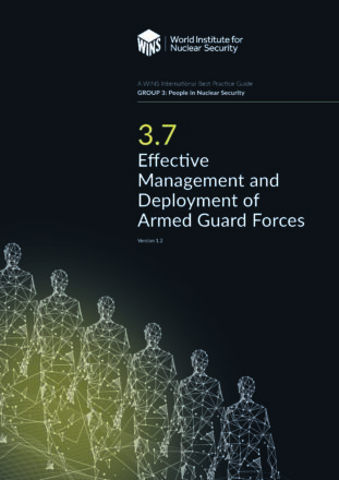 3.7  Effective Management and Deployment of Armed Guard Forces