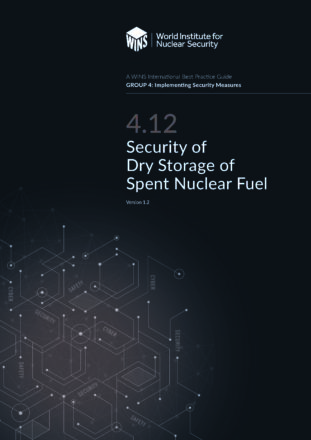 4.12 Security of Dry Storage of Spent Nuclear Fuel