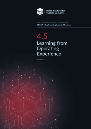 4.5 Learning from Operating Experience