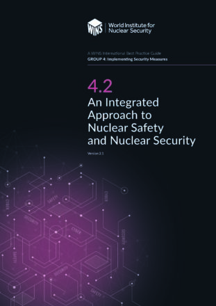 4.2 An Integrated Approach to Nuclear Safety and Nuclear Security