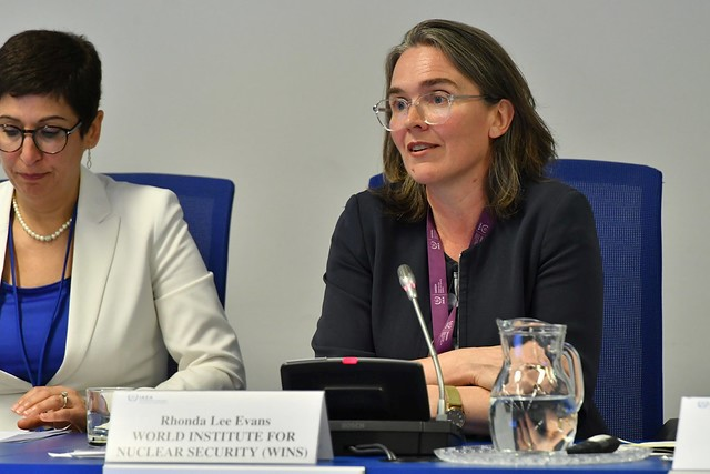 Head of the WINS Academy Participates as a Panelist at the Annual Meeting of the IAEA Nuclear Security Education Network