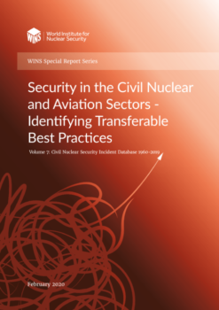 Civil Nuclear Security Incident Database 1960 - 2019