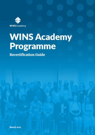 WINS Academy Recertification Guide