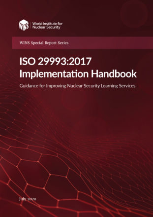 ISO 29993:2017 Implementation Handbook: Guidance for Improving Nuclear Security Learning Services