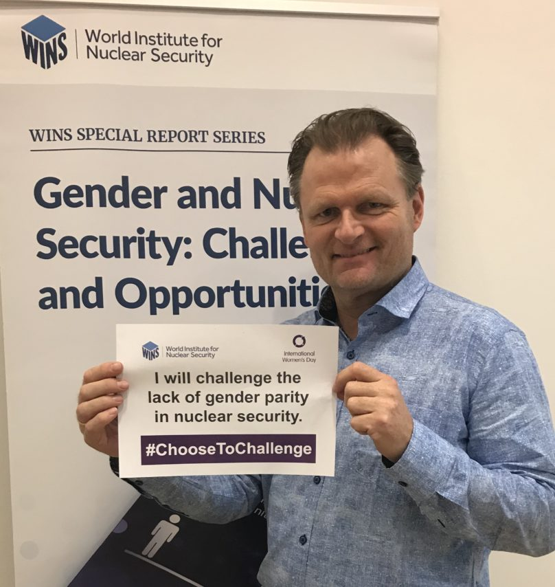 WINS' Executive Director Mr Lars van Dassen Becomes International Gender Champion